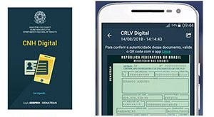 CNH e CRLV Digital Carteira CDT